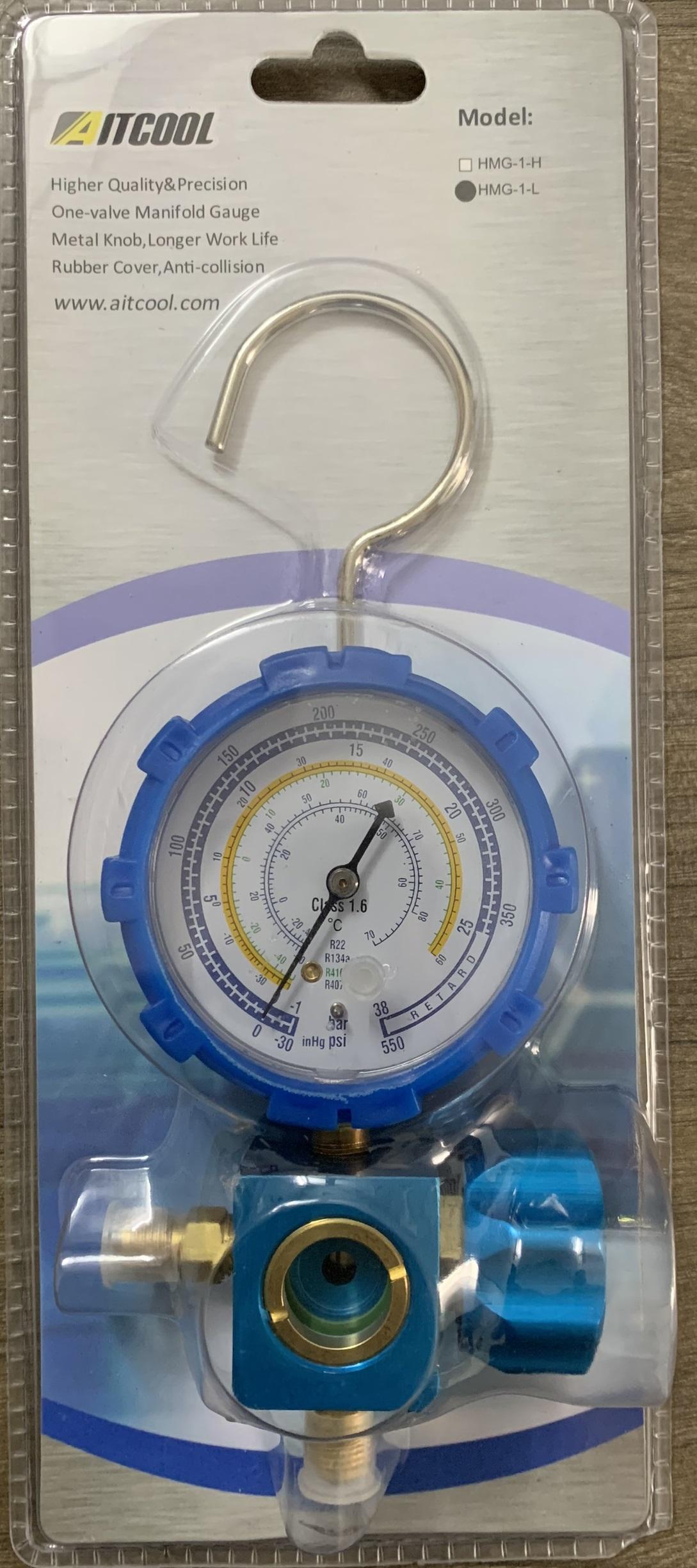Đồng hồ đo gas lạnh áp thấp HMG-1-L