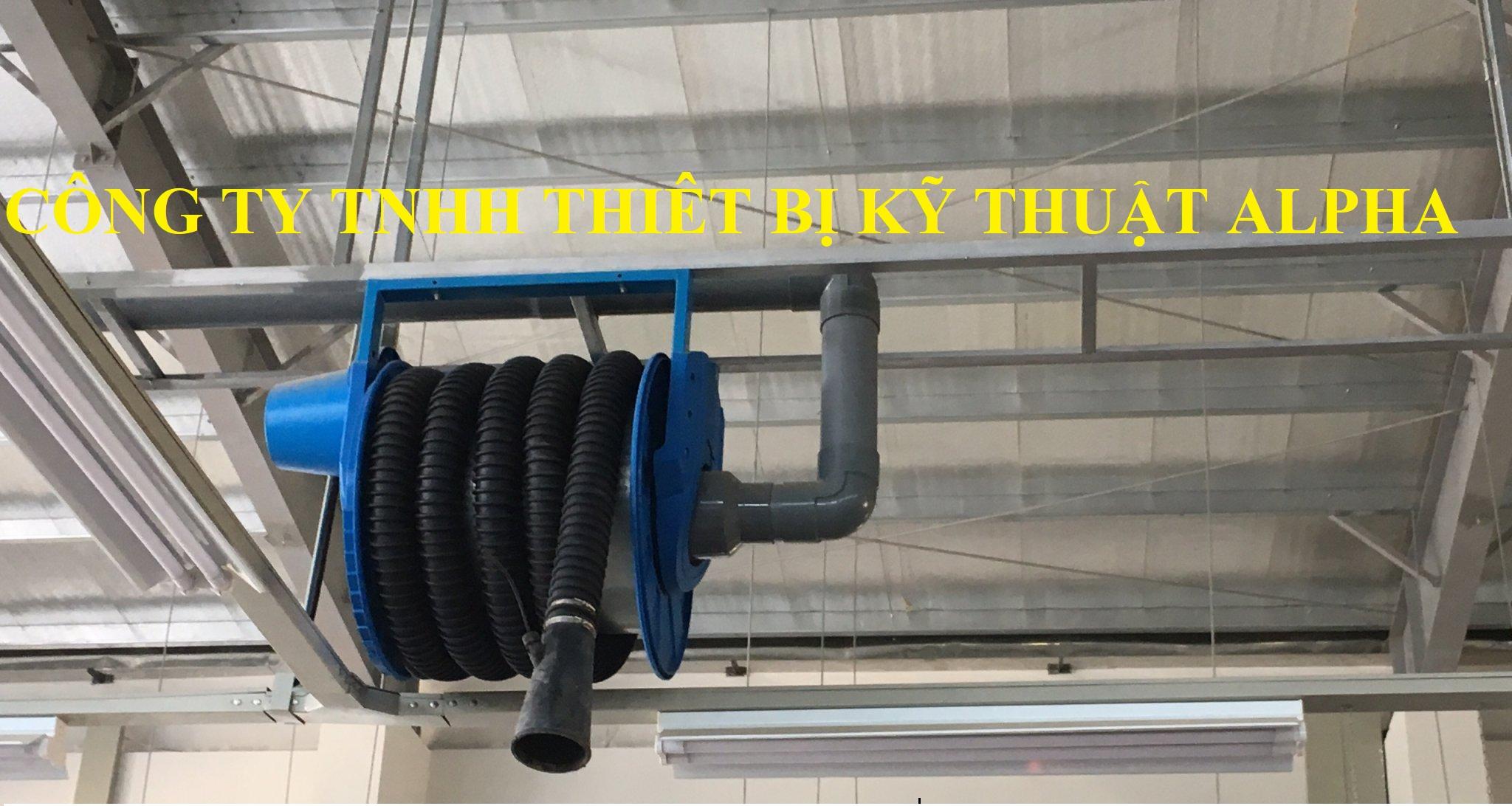 Hệ thống hút khí xả ô tô APKX0001