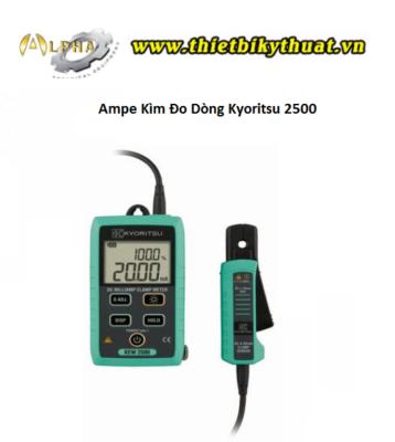 Ampe Kìm Đo Dòng Kyoritsu 2500