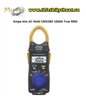 Ampe kìm AC Hioki CM3289 1000A True RMS
