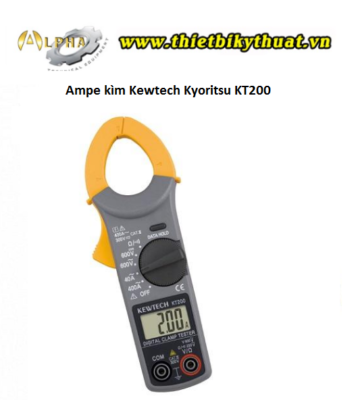 Ampe kìm Kewtech Kyoritsu KT200