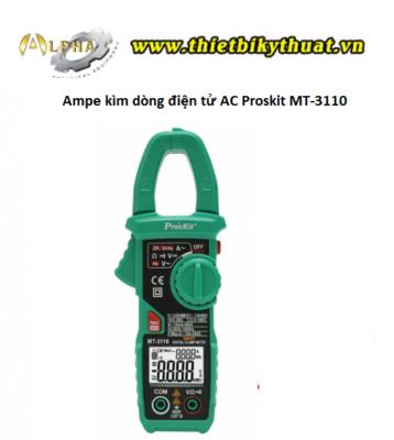Ampe Kìm Dòng Điện Tử AC Proskit MT-3110