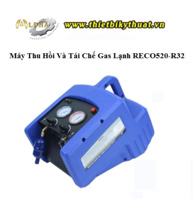 Máy Thu Hồi Và Tái Chế Gas Lạnh RECO520-R32
