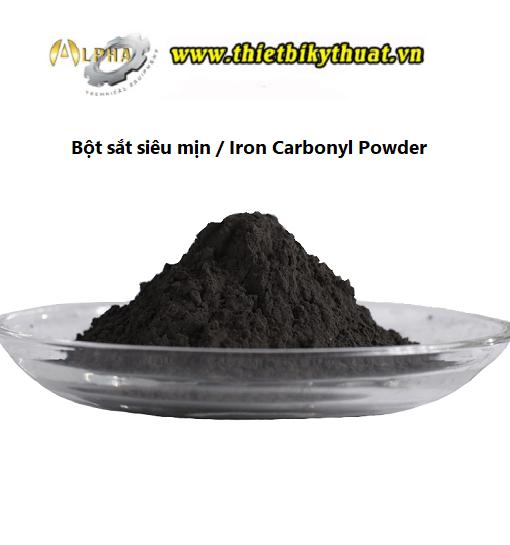 Bột sắt mịn (Carbonyl Iron Powder)