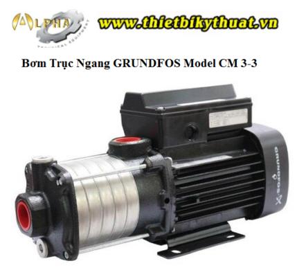 Bơm GRUNDFOS Model CM 3-3