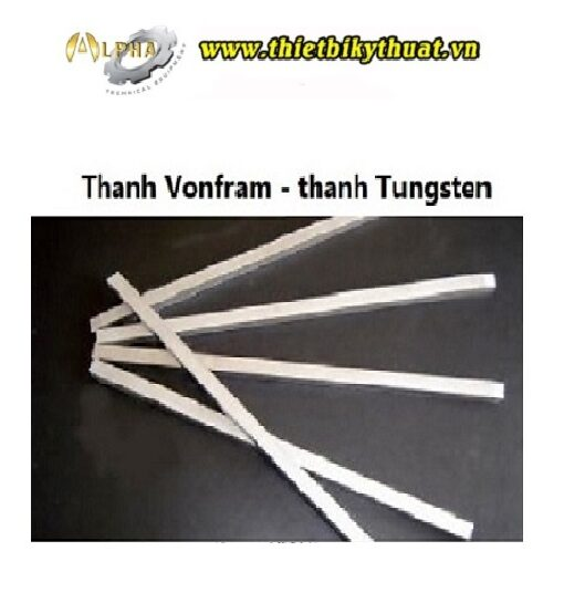 Thanh vonfram - thanh tungsten