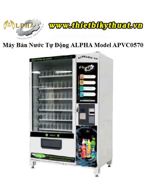 Máy Bán Nước Tự Động ALPHA Model APVC0570